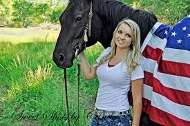 Horse With American Flag Horse Flag And Beautiful Senior Portraits My Work