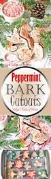peppermint bark cutouts recipe baking pans peppermint and