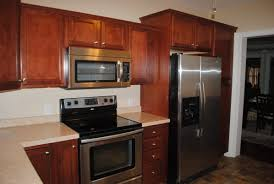 furniture amazing wooden kitchen armstrong cabinets in brown with
