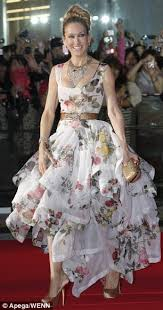 vivienne westwood wedding dresses 2010 sjp and co take the and the city 2 tour to tokyo as