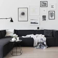 Black Couch Living Room Home Design Ideas - Black living room decor