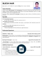 Sample Resume For Net Developer With 2 Year Experience by Sample Resume Perfect Resume Microsoft Net 2 Years