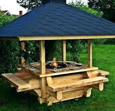 construire cuisine d été cuisine d ete en bois copyright construction cuisine dete en bois