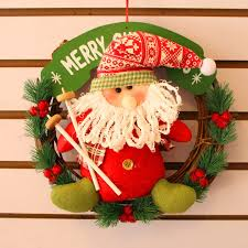 new home christmas decorations suppliers christmas rattan ring