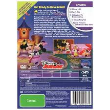mickey mouse clubhouse minnie rella dvd big