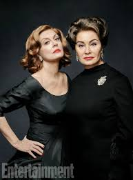 susan sarandon u0026 jessica lange fight as bette davis u0026 joan