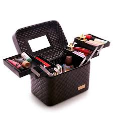 professional makeup storage women large capacity professional makeup organizer fashion