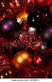 colored shiny round christmas baubles stock photo royalty free