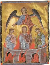 saints ananias azarias and misael the three holy youths in the