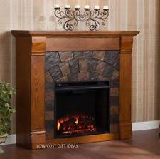 Tv Stand Fireplace Heater by Stone Electric Fireplace Ebay