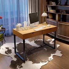 household furniture study desk student desk pine wood new simple desktop computer desk with drawers
