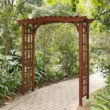 wedding arches ebay coral coast halstead wood garden arbor hayneedle