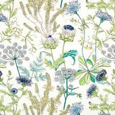 Blue Home Decor Fabric Teal And Navy Blue Upholstery Fabric Green By Popdecorfabrics