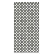 veranda 0 2 in x 48 in x 8 ft nantucket gray vinyl privacy
