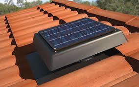 solar attic vent fan handilite sv200 solar powered roof vent ventilation attic exhaust