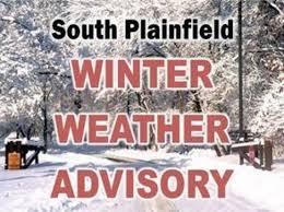 south plainfield winter weather advisory south plainfield