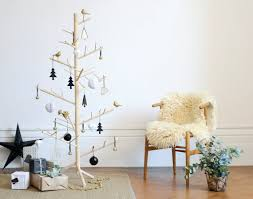 Decorated Christmas Tree Nz by Branch Contemporary Wooden Christmas Tree