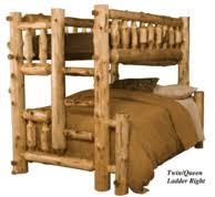 Log Bunk Beds Rustic Bunk Beds Log Loft Beds - Log bunk beds