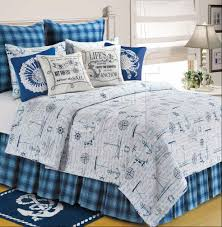 Anchor Comforter Fair Winds By C U0026f Quilts Beddingsuperstore Com