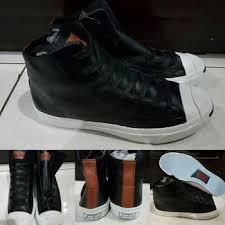 Jual Sepatu Converse Varvatos jual sepatu converse ct purcell leather kulit black white hitam