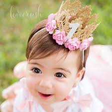 headband newborn aliexpress buy 7 colors newborn birthday crown headband