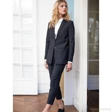 tenue de bureau tailleur intemporel veste décontractée en et coton tenue