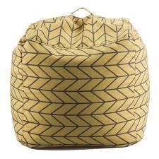 geometric bean bag chair u2014 14karat home adornments for living