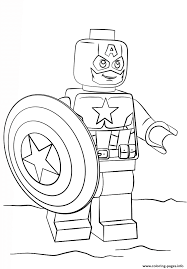 Winnie The Pooh Halloween Coloring Pages Lego Captain America Coloring Pages Printable