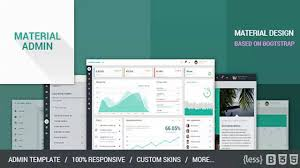 material admin bootstrap admin html5 app website templates and