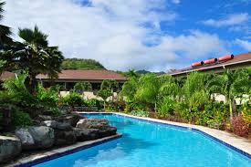 sunset resort isole cook rarotonga booking com