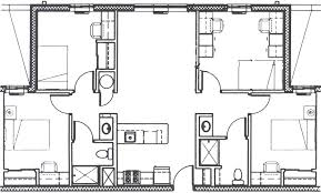 4 bdrm house plans bedroom four bedroom house plans with garage two bedroom