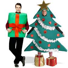 christmas tree costume christmas tree and gift box couples costume
