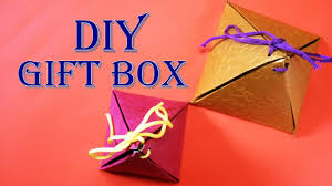diy christmas sweet box easy to make gift box craft basket
