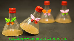 How To Dispose Of Kitchen Knives by 5 Creative Ways To Reuse And Recycle Plastic Bottles Youtube