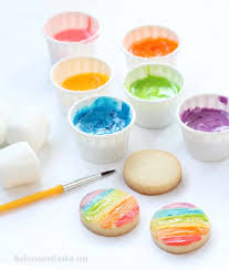 edible images edible marshmallow paint kid friendly cookie decorating