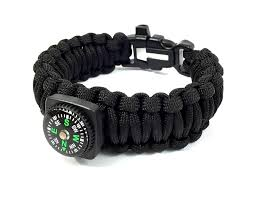 black survival bracelet images The ultimate paracord survival bracelet with firestarter buckle by jpg