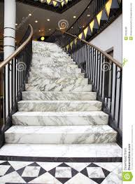 marble stairs white marble stair in luxury interior royalty free stock photos