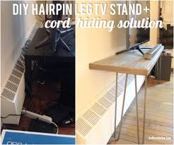 mid century modern baseboard diy day 2 custom hairpin leg tv stand a furniture solution for