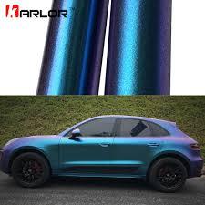 purple glitter car aliexpress com buy 2m 18mx152cm glossy matte chameleon pearl