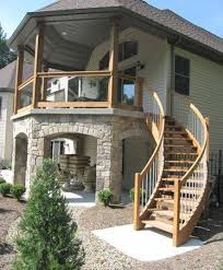 Wooden Front Stairs Design Ideas Model Staircase Wooden Exterior Stair Design Ideas Outer