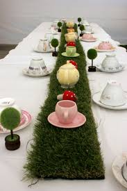 appealing wonderland birthday tea party me diy food decoration