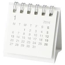 Small Desk Calendar 2015 Mini Desk Calendar