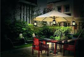 patio umbrella with solar led lights garden umbrella lights garden ft rectangular outdoor patio umbrella