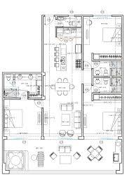 3 Bedroom Condo Floor Plan by Copala Luxury Condominiums Cabos Luxury Homes
