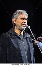 Opera Singer Blind Bocelli Bocelli Stock Photos U0026 Bocelli Stock Images Alamy