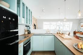 Vintage Blue Cabinets Kitchen Wonderful Blue Kitchen Cabinets Photos Ideas