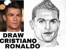 cristiano ronaldo sketch tutorial hindi youtube