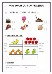 english teaching worksheets food likes and dislikes