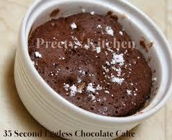 preety u0027s kitchen 35 second eggless chocolate cake step by step