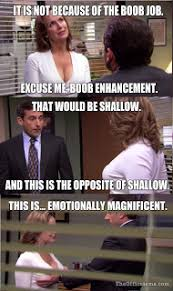 Tits Meme - the office isms memes